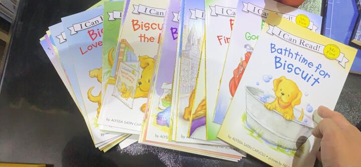 汪培珽英文书单 I can read 第一阶段全12册+2CD 套装 英文原版儿童绘本幼儿启蒙书 晒单图