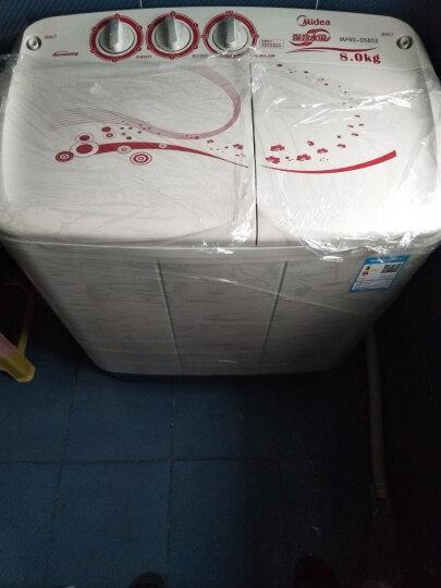 美的(Midea)洗衣机半自动 8公斤双桶双缸 强力洗涤 MP80-DS805 晒单图