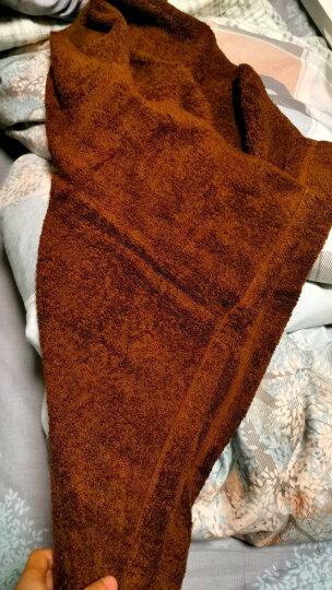 日本airkaol进口浅野大浴巾女纯棉强吸水面巾柔软舒适毛巾加厚干发巾XTC系列 60*120cm 珊瑚红 60*120cm 晒单图
