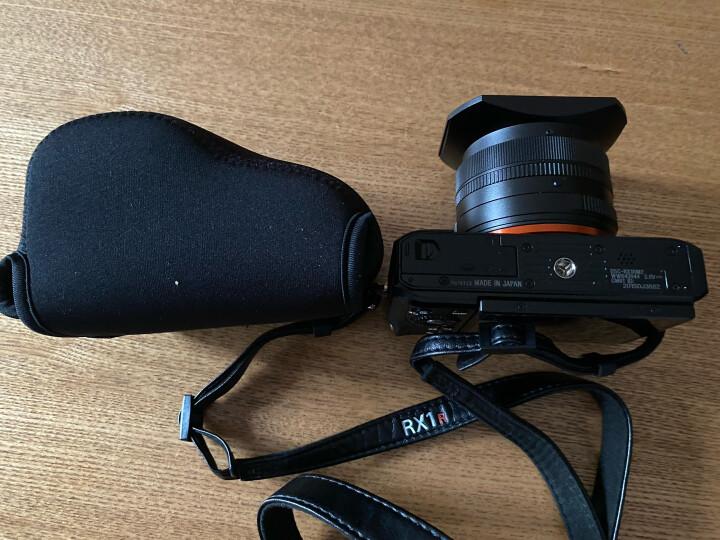 JJC 适用索尼微单相机内胆包SONY A6600 A6500 A6400 A6300 A6100L A6000 A5100摄影保护套 三角收纳袋RX1R2 晒单图
