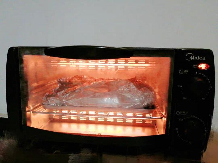 美的(Midea)T1-L101B 家用多功能迷你小烤箱 10升家用容量 双层烤位 晒单图
