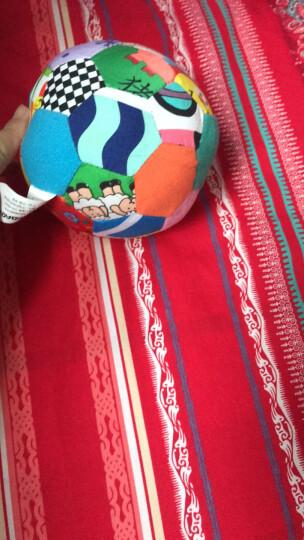 LALABABY/拉拉布书 早教玩具 启智布球 内置摇铃铃铛 0-1岁婴儿手抓球 男孩女孩玩具 布玩 五彩感官球 晒单图