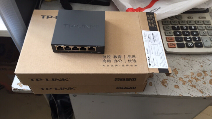 TP-LINK TL-SG1005D 5口千兆交换机 晒单图