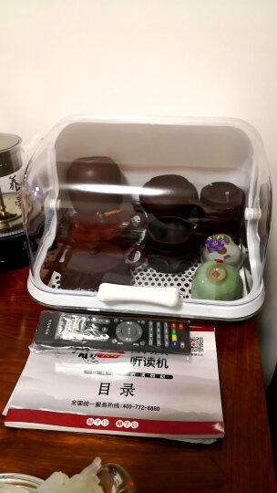 康韵 耐热玻璃茶具套装功夫茶具带过滤泡花茶壶玻璃盖碗茶杯公道杯整套茶具家用 12双耳茶壶+高口杯+茶盘套装 晒单图