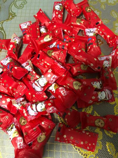 博咖(boncool) 牛轧糖包装袋 糖果包装纸 圣诞节糖纸 阿胶膏包装袋子机封袋 约200只 多只牛四合一200只 晒单图