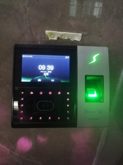熵基科技(ZKTeco)IFace702人脸识别考勤机面部指纹打卡机签到科技刷脸门禁一体机 免软件版 IFace702-P(隔空掌纹打卡+wifi通讯) 晒单图