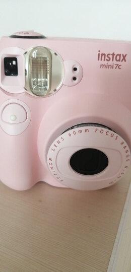 富士instax立拍立得 一次成像相机 mini7c 樱粉 晒单图