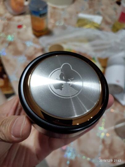 TOMIC特美刻乐茶杯保温杯 男银制内胆银杯不锈钢水杯子泡茶杯 TWL1239 土豪金 晒单图