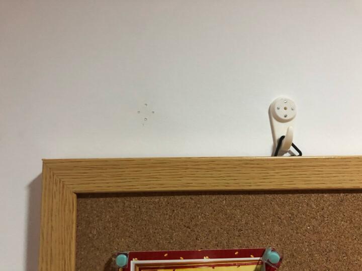 得力(deli) 白板 拼接可插针软木板墙/照片墙板/留言板/家用记事板/创意DIY背景墙 6片装8760 晒单图