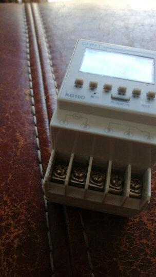 正泰(CHNT) 正泰时控开关 定时器 时间开关 循环电源控制器 KG10D 一常开一常闭 晒单图