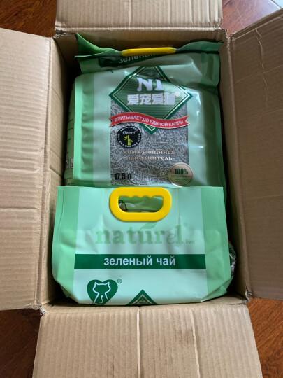 N1猫砂豆腐猫砂玉米猫砂除臭猫砂除味易结团植物猫沙猫砂盆猫咪用品 2mm新款活性炭豆腐砂17.5L 晒单图
