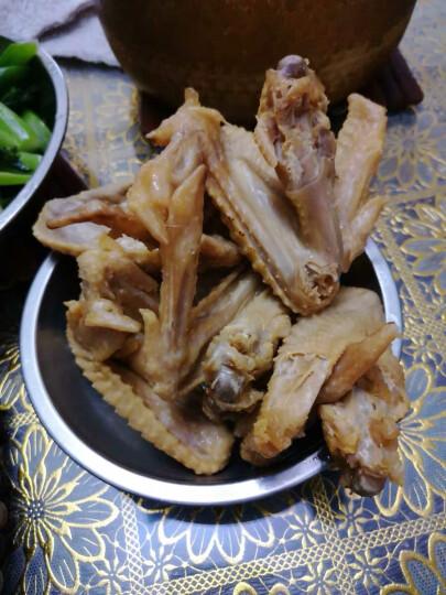 【广东馆】老白渡 梅州客家盐焗食品 熟食鸡肉 广东特产 盐焗鸡翅鸡爪 五香鸡翅600g 晒单图