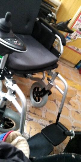 九圆 电动轮椅可折叠代步车残疾人老年人自动轮椅车老人轻便可选锂电池 豪华全躺款单人(EABS坡停不溜车) 超威铅酸 晒单图