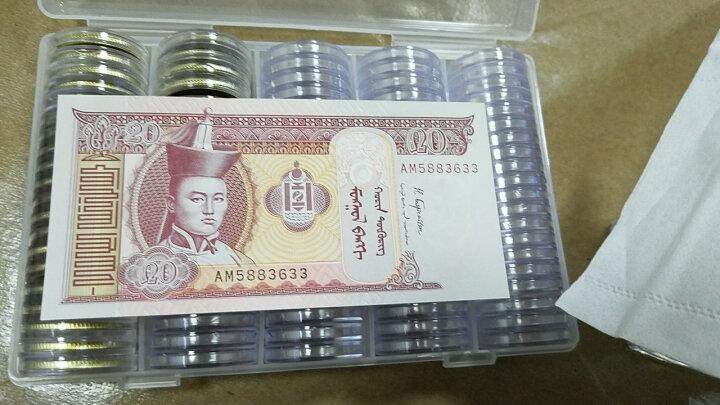 楚天藏品 蒙古纸币 东南亚纸币纪念钞收藏 1-100图格里克全套共6张 晒单图