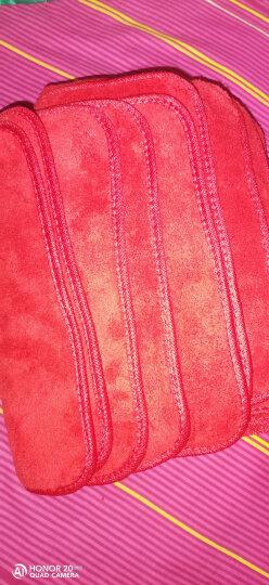吸水抹布不易掉毛家政保洁清洁布厨房洗碗布擦地板擦车毛巾擦手巾30*40cm 10条装 晒单图