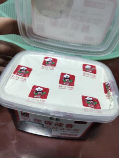 韩一奶奶 辣椒酱 韩式石锅拌饭酱500g 晒单图