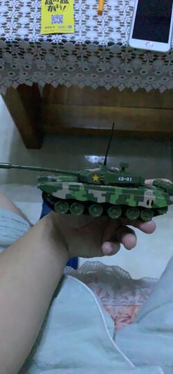 华一合金汽车模型军事儿童玩具坦克飞机大炮仿真模型 男孩车模玩具 防控排炮车-军绿 晒单图