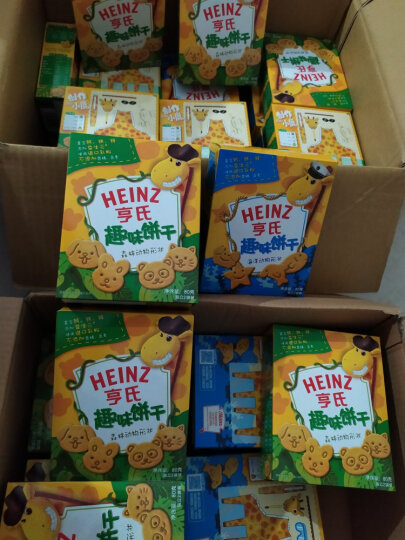 亨氏 (Heinz)  森林动物 零食趣味饼干80g(3岁以上适用) 晒单图