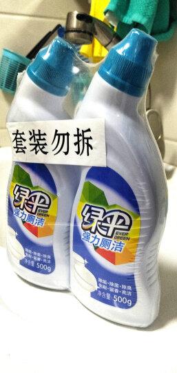 绿伞 强力洁厕灵500g*2瓶 洁厕液 厕所去味洁厕剂马桶清洁剂洁厕宝 晒单图