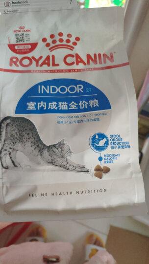 ROYAL CANIN 皇家猫粮 I27 Indoor27室内成猫猫粮 全价粮 0.4kg 晒单图