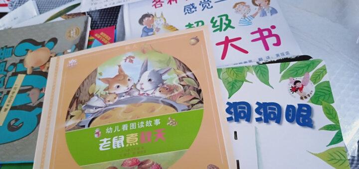 松鼠先生和第一场雪 幼儿图书 绘本 早教书 儿童书籍 晒单图