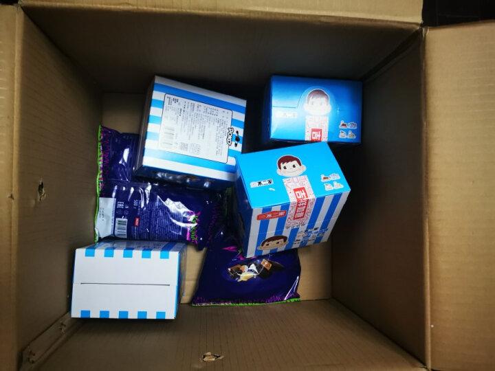 不二家 牛奶混合口味大棒棒糖 香醇牛奶+乳酸牛奶+奶茶+巧克力牛奶  糖果 儿童零食(约28支)280g/盒 晒单图