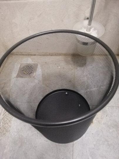 探戈(TANGO)中号金属网垃圾桶 办公室厨房卫生间家用清洁桶 办公环保纸篓φ235mm 晒单图