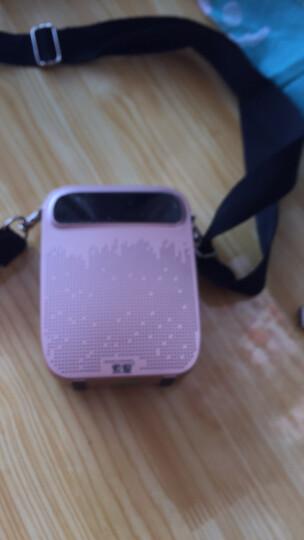 索爱(soaiy)S-618 18W有线大功率便携式小蜜蜂扩音器 教学专用导游导购插卡U盘播放器唱戏机 睿智黑 晒单图