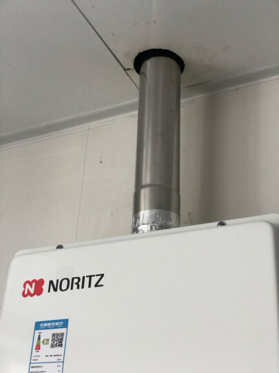 能率(NORITZ) 燃气热水器 智能精控恒温 CPU智能控制系统 热水器燃气天然气1380FEX 13升 1380FEX 晒单图