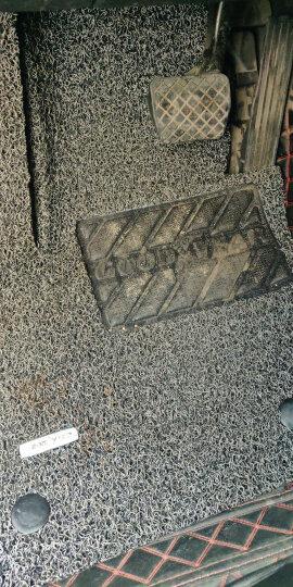 【入仓脚垫】固特异(Goodyear) 丝圈汽车脚垫 适用于2010-2019款现代ix35专用脚垫 飞足plus系列17mm黑色 晒单图