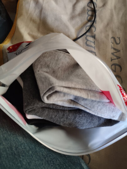 北极绒 毛绒袜子 保暖加厚中筒情侣款棉袜礼盒装 女款4双随机装 均码 晒单图