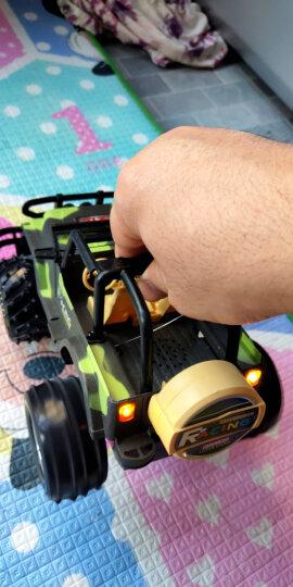 DZDIV方向盘遥控车 越野车儿童玩具大型遥控汽车模型耐摔配电池可充电388-12迷彩绿色 晒单图