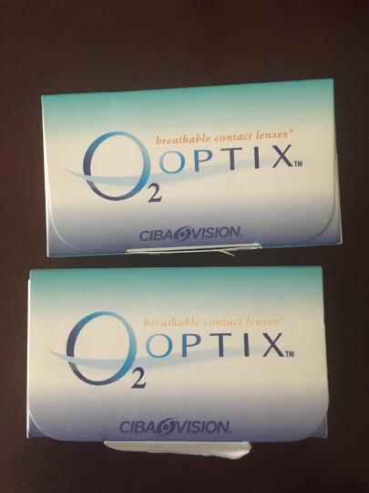 爱尔康视康 隐形眼镜 舒视氧 硅水凝胶 进口月抛 3片装 525度 晒单图