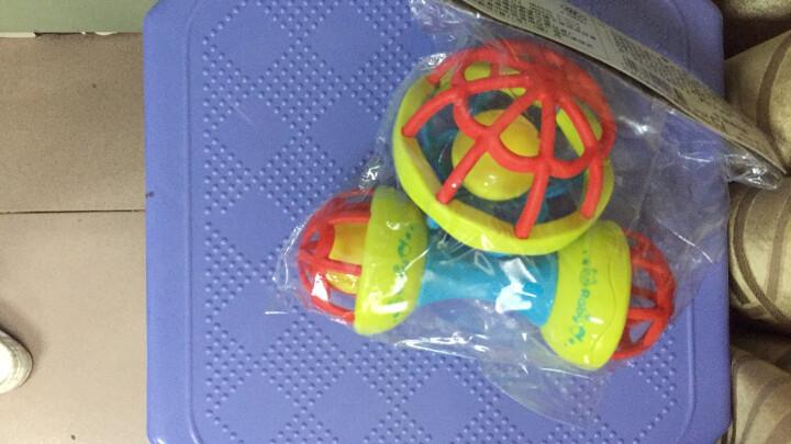 育儿宝 婴儿玩具手摇铃6-12个月宝宝0-1岁牙胶男孩女孩新生儿0-3婴幼儿益智手抓球 摇铃健身球两件套 晒单图