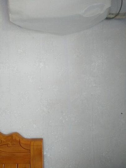 九洲鹿 墙贴家居 自粘墙纸 马卡龙白色墙贴客厅卧室寝室翻新贴膜贴纸简约白色  0.45*10m 晒单图