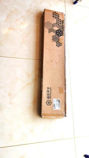 溢彩年华 不锈钢晾衣架 折叠衣架落地阳台晾衣杆伸缩晒被架晒衣架2米加厚管挂衣架简约白 YCC4027-WH 晒单图