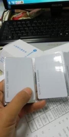 真地(Realand)id卡白卡考勤卡ID卡门禁卡 id上班打卡 60张/盒 晒单图