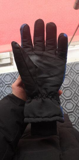 博沃尼克 运动滑雪手套 冬季保暖手套 防风寒防水 加厚骑行手套 骑车手套  蓝立方升级款 晒单图