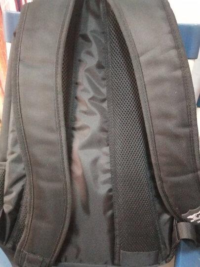 七匹狼双肩包男休闲男士大容量背包新品大学生书包笔记本商务电脑包多功能旅行包 经典款两层仓黑色 晒单图