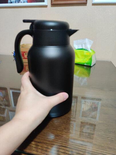 哈尔斯 保温壶杯 家用暖壶瓶热水瓶壶 健康不锈钢 暖水瓶壶 家居壶瓶2L欧式家用开水瓶咖啡壶大容量 (升级款)本色 晒单图