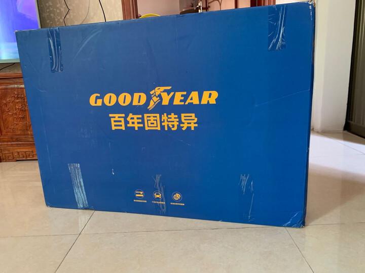 【入仓脚垫】固特异(Goodyear) 丝圈汽车脚垫 适用于本田十代思域后排分体 飞足plus系列17mm黑色 晒单图