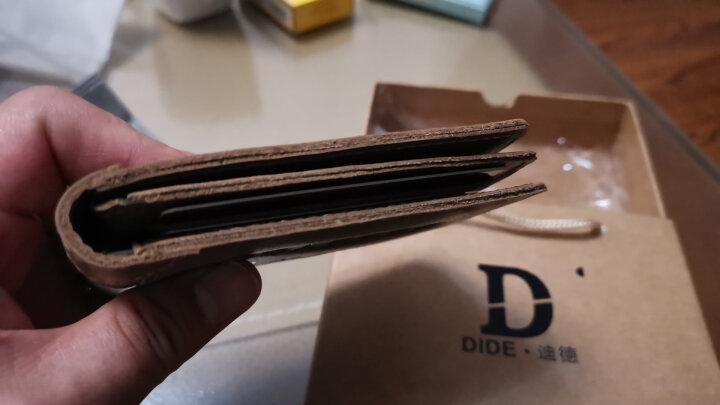 迪德DiDe多功能情侣款驾驶证套真皮耐磨头层牛皮行驶证件套驾照夹本皮套男士薄款 DQ644深啡色 晒单图
