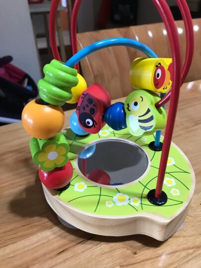 德国(Hape)宝宝串珠绕珠儿童玩具早教启蒙益智玩具1-3-6岁木制男孩女孩生日节日礼物泡泡乐 6个月+ E1801 晒单图