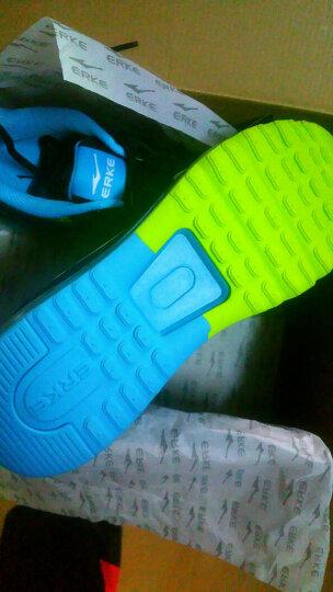 鸿星尔克ERKE跑鞋情侣款全掌气垫减震运动慢跑鞋男款 51116120028 芙蓉橙/彩蓝 41 晒单图