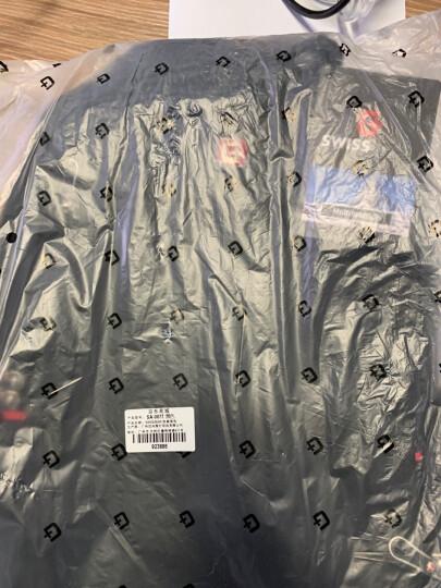 SWISSGEAR电脑包双肩男 防泼水防刮15.6英寸商务双肩电脑背包 时尚休闲男包双肩包 SA-007黑色 晒单图