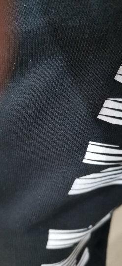 李宁加绒运动裤男加厚保暖卫裤男秋冬季休闲长裤子收脚小脚束脚紧口袋拉链棉裤 时尚款拉链口袋(加绒款) XL 180/84A 晒单图