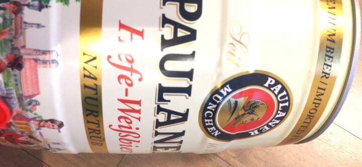 保拉纳/柏龙(PAULANER)酵母型小麦啤酒 5L*1桶装 德国进口 晒单图