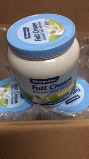 美可卓Maxigenes 澳洲进口高钙全脂成人奶粉 蓝胖子 1kg 晒单图