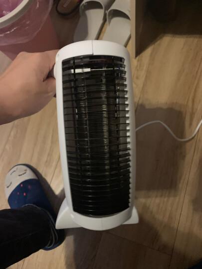 志高(CHIGO) 取暖器电暖器电暖气 办公室卧室家用暖风机电暖风便携式立卧两用暖气机P1款 白色温控款【热卖】 晒单图