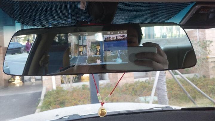 凌度 智能行车记录仪 高清夜视 前后双录双镜头倒车影像流媒体后视镜导航电子狗测速仪一体机 4G云镜 IPS触屏版双镜头+1080P+32G卡(套餐一) 晒单图